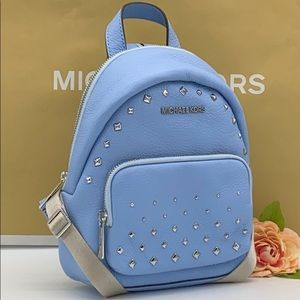 MICHAEL KORS ERIN SM CONVERTIBLE BACKPACK LIGT SKY